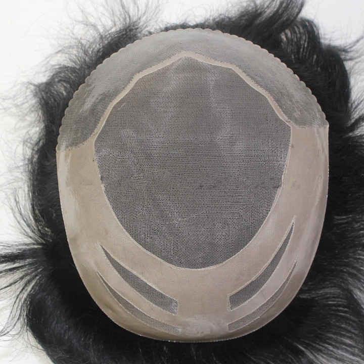 Scallop Haarteil mit gezacktem Haaransatz