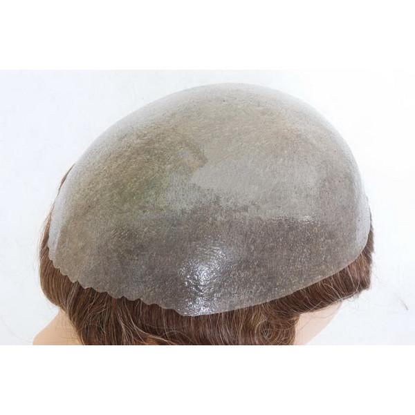 Toupet Folie natürlicher Haaransatz bzw. gezackter Haaransatz